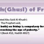 SIGNIFICANCE OF GHUSL ON JUMUAH