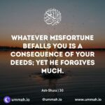 """""""WHATEVER MISFORTUNE HITS YOU IS ON ACCOUNT OF YOUR SINS."""" – MAJLIS BY HAZRAT MASEEHUL UMMAT رحمه الله"""